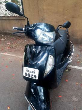 Suzuki Access 125 Black Colour in Good Condition