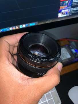 Lensa canon 50mm f1.4