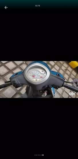 Yamaha fasino blue color