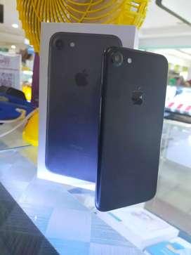 Iphone 7 128gb blck mulus fullset  all operator