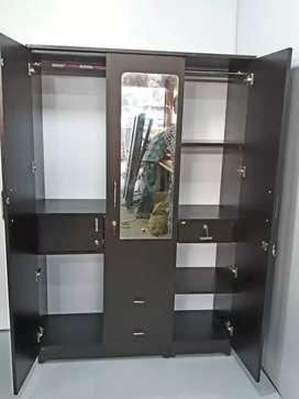 Wardrobe, bed, almari, brand new in wholesale rate