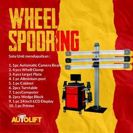 SPOORING BY AUTOLIFT