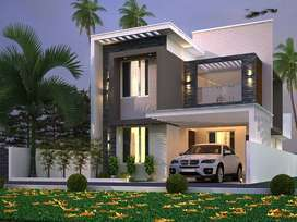 4.5cent with 1785sqft 3bhk for sale in Chandranagar