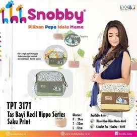 Tas Bayi Kecil Hippo Series Saku Print Snobby TPT 3171