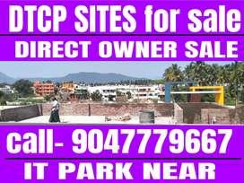Saravanampatti IT park near DTCP PLOTS sale