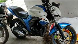 Single owner kollam registration fixed prize 60000. suzuki Gixxer