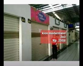 Jual MURAH Kios Pasar Modernland Tangerang