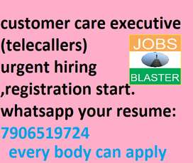 telecallers and customer care executive @work from home