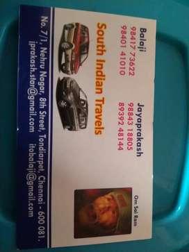 Chennai car taxi servise
