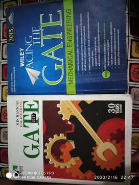 GATE Mechanical Engineering Books by IES MASTER and Wiley.(both@500)
