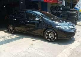 Honda city pakai velg hsr pantheon r17x7.5 terima tukar tambah velg