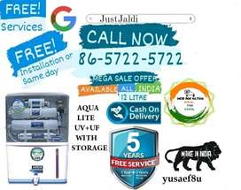 yusaef8u WATER PURIFIER WATER FILTER TV DTH   FREE INSTALLATION AND SE