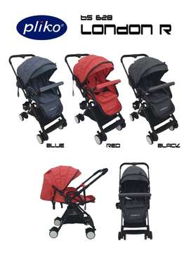 PROMO Stroller Pliko London R Stroler Kereta Dorong Anak Bayi MURAH
