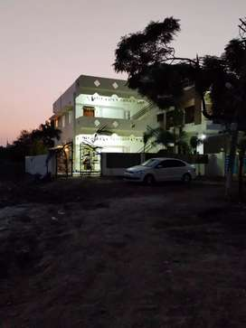 2 BHK independent furnished house with fans, lights, hot water geysers