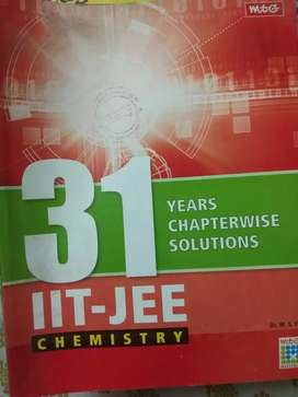 31 years IIT JEE chemistry chapter wise solution