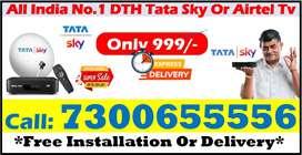 Lockdown offer Tata sky Free installation airtel digital TV all India.