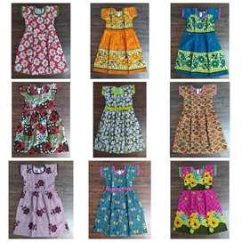 Kids Export Surplus Branded summer Frocks