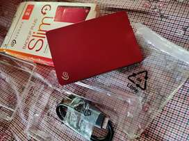 Seagate slim plus External  hard disk 2tb new condition