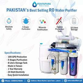 Only Taiwan Ro Plant in Pakistan - PentaPure Water Filter