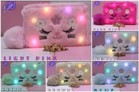 FURR MATERIAL LIGHTS POUCHES