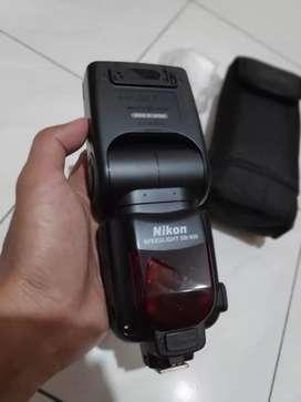 Flash speedlight Nikon SB900 flagship premium nikon murah saja