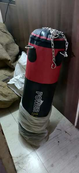 Boxing  bag available