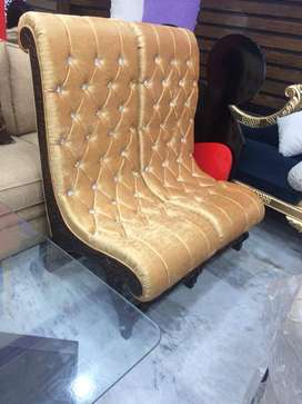 Available chair set brand new ( khawaja's Fix price shop