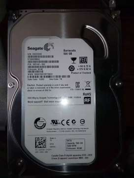 Hard drives for PC and DVR also used in pc