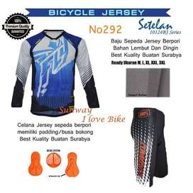 AF136 Harga Promo Setelan Baju Dan Celana Sepeda Gratis Onkir Dan Baya