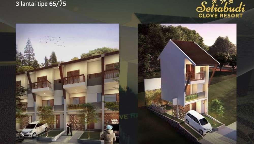rumah type 75 65 3 lantai di setiabudi bandung