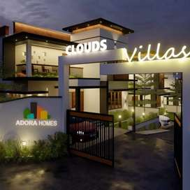 Hurry up! Only one left ! 3 bhk villas in chitilapilly