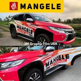 Manis exclusive mobil jd Keren Wrapping stiker Mangele harga Terbaik