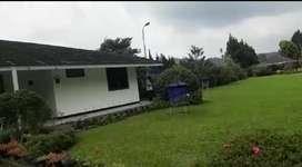 Jual tanah plus villa mewah LT 120ha, shm+ ajb, cocok agrowisata