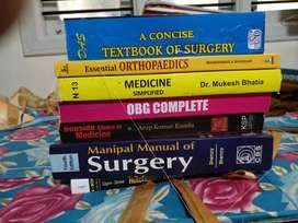 Medical MBBS BOOKS
