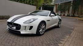 SALE Jaguar F-Type Cabrio 3.0 White on Black  Tahun 2013