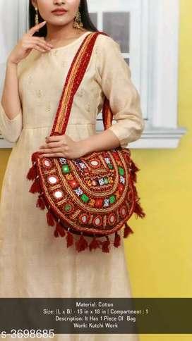 Cotton women's bag
