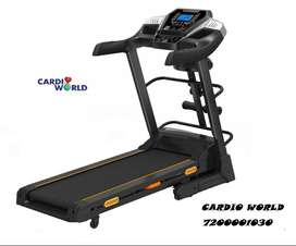 Motorized Treadmill with vibrator attached for sale in cardioworld