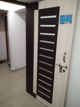 1bhk flat with attached L&B with bed fan battery