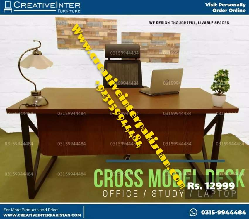 Office table modrn style chair sofa bed set workstation study Computer