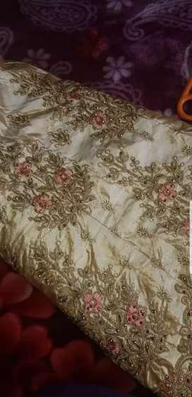 Choli semi stitched