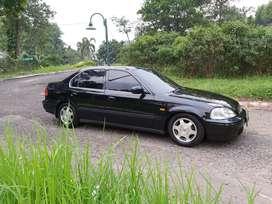 Honda civic Ferio 1996 Hitam Matic Plat F Bogor