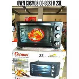 PROMO! - OVEN LISTRIK /ALAT PEMANGANG OVEN COSMOS CO-9923R 23 LT 400W