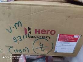 Hero glamour FI125 cc front wheel,  Disc