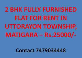 2 BHK Fully Furnished Flat in Uttorayon, Matigara