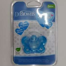 Dr. Brown's Empeng Bayi 0-6m one piece pacifier soother newborn