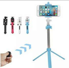 Tripod/tongsis blue tooth 2 in 1