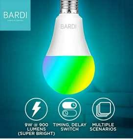 9W BARDI Home Automation RGB+WW Smart Light Bulb/ Wifi Wireless IoT