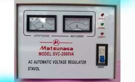 MATSUNAGA Stavol 2000 watt Servo Motor/Soft Start/Regulator/Stabilizer