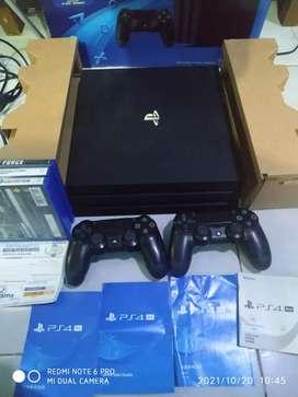 PS4 Pro 1TB 4K HDR Resmi Fullset