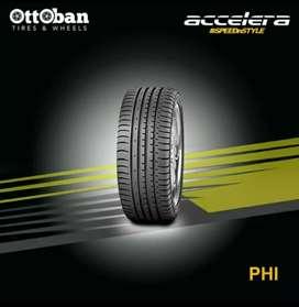 Di jual Ban mobil ukuran 205/40 R18 accelera Phi R